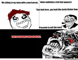 Meme Hairstyles - bad haircut day by fabian meme center