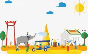 Massachusetts Travel Clipart images Yellow thailand travel travel clipart yellow cartoon png image jpg