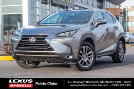 lexus nx demo for sale used 2017 lexus nx 200t luxury navigation for sale in montreal