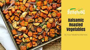 Oven Roasted Root Vegetables Balsamic - balsamic roasted veggies youtube