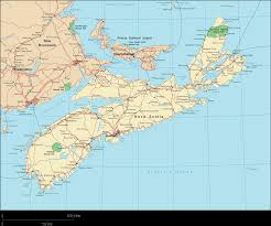 Map Of Canada With Provinces by Nova Scotia Map Map Of Nova Scotia Nova Scotia Province Map Nova
