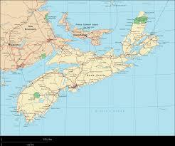 Canada Maps by Nova Scotia Map Map Of Nova Scotia Nova Scotia Province Map Nova
