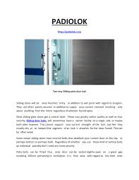 sliding glass doors open both sides padiolok by padiolok issuu