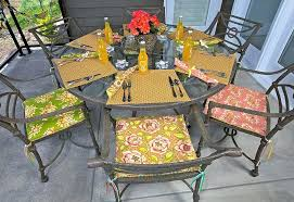 Recover Patio Chairs How To Recover Patio Chair Cushions Patio Furniture Replacement