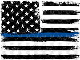 American Flag Pictures Free Download American Flag With Thin Blue Line Royalty Free Vector Clip Art