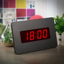 amazon com chaorong silent digital alarm clock wall clock for