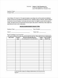 9 mileage reimbursement form template mac resume for employees