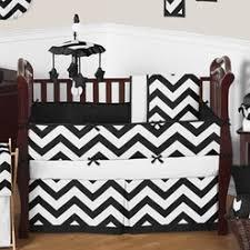 Black And White Chevron Bedding Baby Bedding And Crib Bedding