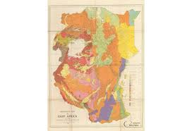 geographical map of kenya east africa geological map tanzania kenya uganda geological