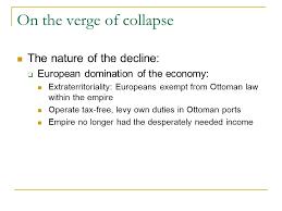 Economy Of Ottoman Empire The Ottoman Empire Ish Decline Of The Ottoman Empire Ppt