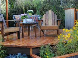 Ideas For Backyard Patios by Pictures Of Beautiful Backyard Decks Patios And Fire Pits Diy