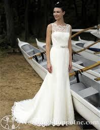 illusion neckline wedding dress a gorgeous illusion bodice gown awaits you today at wedding shoppe