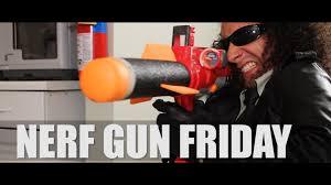 black friday nerf guns nerf gun battle nerf gun friday youtube