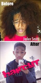 caption for big haircut jaden smith cut his hair