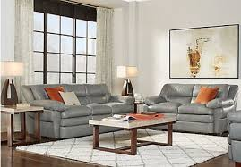 Leather Furniture Living Room Sets Grey Leather Living Room Sets Gray Leather Furniture