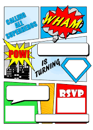 25 superhero invitations ideas super hero