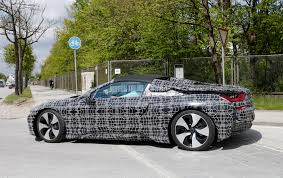 bmw i8 key spied 2018 bmw i8 spyder looks production ready