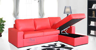 Red Leather 2 Seater Sofa Detroit Chaise Sofa In Leather Stylish Comfy Sofas Comfort