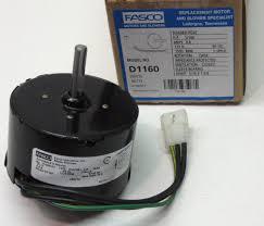 Bath Fan D1160 Fasco Bathroom Fan Vent Motor For 7163 2593 655 661 663 655n