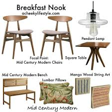 3 chic breakfast nooks on a budget u2014 a cheeky lifestyle chic