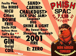 Phish Bathtub Gin Chords by Coventry Music Phish 2016 Setlists And Art
