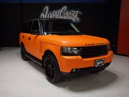orange range rover west coast customs on twitter