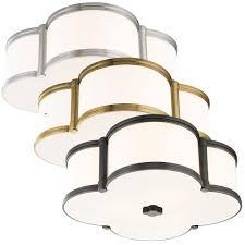 hudson valley 1216 chandler transitional flush ceiling light