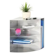 safco onyx mesh desk organizer corner desk organizer x x silver 5 section steel corner desk
