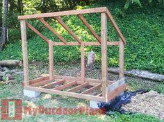 Outdoor Wood Shed Plans by Wood Shed How To Make The Floor Stavby Pinterest Woods