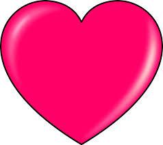 6 best images of valentine heart clip art pink valentine heart