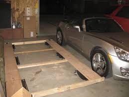 Size 2 Car Garage by How To Store A Sky In A 2 5 Car Garage With Pics Saturn Sky
