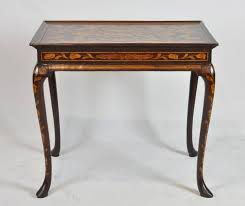Queen Anne Office Furniture by 18th Ct Dutch Marquetry Queen Anne Style Tea Table At 1stdibs