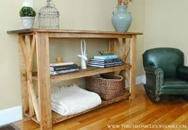Console Table For Living Room Diy Console Table 5 Ways Bob Vila