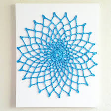 Hanging Wall Decor by Wall Art Mandala Crochet Wall Hanging Wall Hanging Wall