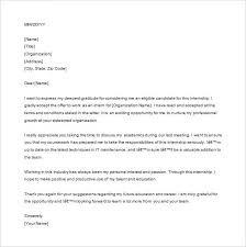 best solutions of thank you letter for internship offer in resume
