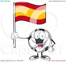 royalty free rf spanish flag clipart illustrations vector