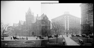 lafayette square print collection public library on left lafayette hotel on