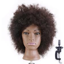 amazon com hairginkgo 100 real mannequin head hairdresser