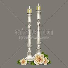 sabbath candles candlesticks shabbat candles chasidish plus all you need
