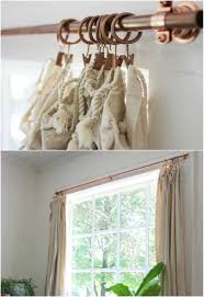 Easy Curtain Rods 16 Diy Curtain Rods And Hooks That Give You Gorgeous Style On A