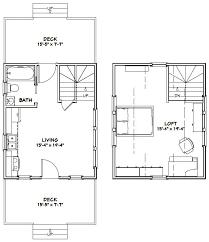 excellent floor plans 16x20 house 16x20h4a 574 sq ft excellent floor plans