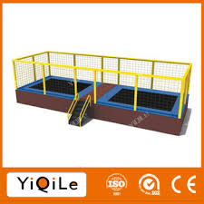 kids indoor trampoline bed square trampoline bed jumping gymnastic