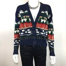 pendleton sweaters pendleton pendleton 1950 s sheep print cardigan wool sweater