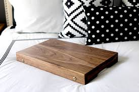 how to build a folding lap desk or breakfast tray