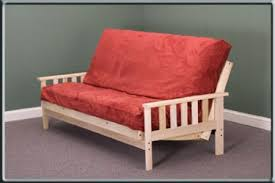 kd savannah bifold futon frame unfinished wood