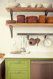 kitchen surprising rustic kitchen open shelving coffee mug