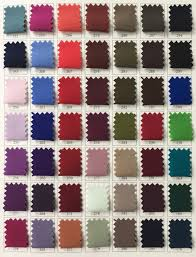 silk fabric color chart u2013 tom u0027s sons international pleating