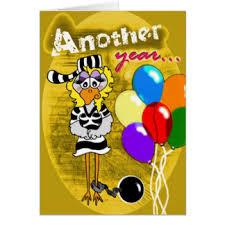 worst birthday greeting cards zazzle