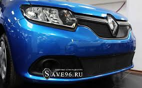 renault sandero 2014 защита радиатора на renault sandero 2 рено сандеро 2 2014 2017 г в