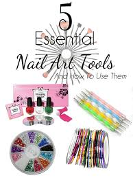 5 essential nail art tools and how to use them ebay